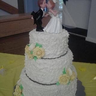 My First Wedding Cake.