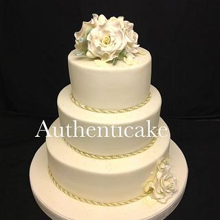 Yesterday's wedding cake
