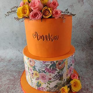 Sweet 16 cake! - Cake by Ritu S