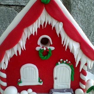 Christmas cake - House