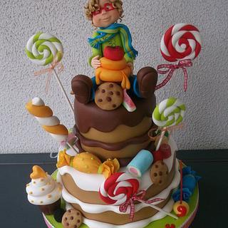 Guilherme Cake - Cake by Alexsandra Caldeira