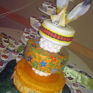 Dene (First Nations) Wedding, Cake