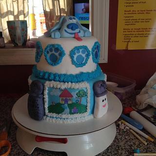 Blues clues cake - Cake by Tianas tasty treats