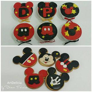 Cupcakes / Cookies - Mickey