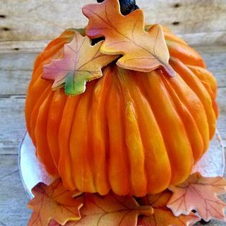 Pumpkin Pie Pumpkin Cake