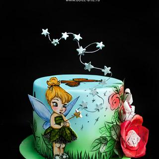 Tinker Bell on fairy glade