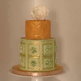 floral cake - Cake by Margarida Seabra