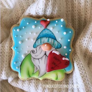 Ho ho ho Airbrush Cookie