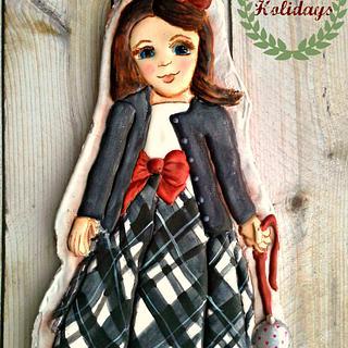 Happy Holidays! - Cake by artetdelicesbym