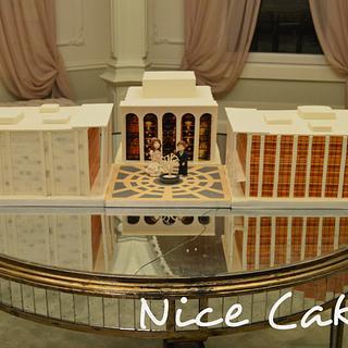 Lincoln Center wedding cake