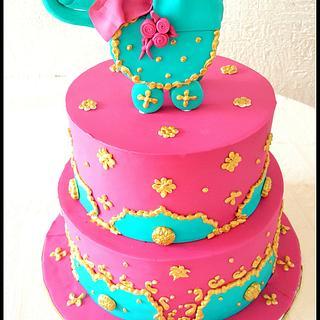 Indian baby showeR! - Cake by Maaria