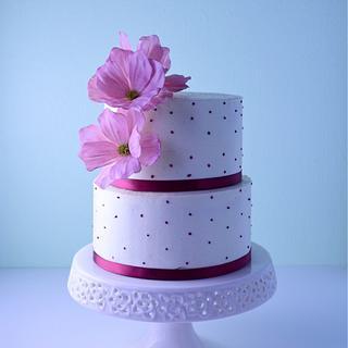 Cosmos  birthday cake