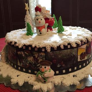 Nova godina#deda mraz#cake#fondan - Cake by Vesna