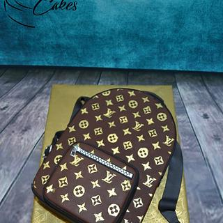 LOUIS VUITTON BACKPACK CAKE - Cake by Zaklina