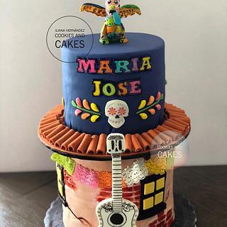 Coco cake  - Cake by Iliana Hernandez