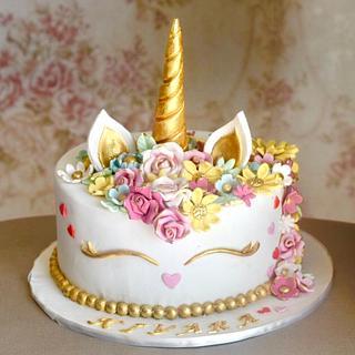 Vintage Unicorn !  - Cake by Somoshree Khandekar