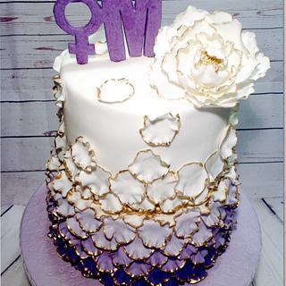8 M cake