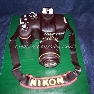 Nikon D5100 Camera Cake - Cake by Creative Cakes by Chris