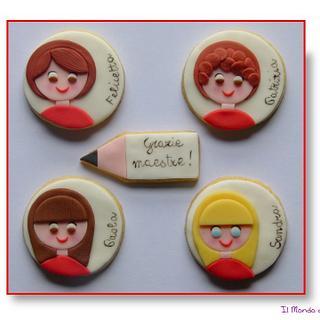 Teachers' cookies - Cake by Il Mondo di TeMa