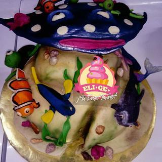 Buscando a Nemo  - Cake by GenesisTiburcio