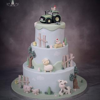 Farm cake - Cake by Twister Cake Art