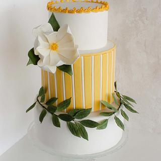 Celebration Fondant Cake  - Cake by Monique Ascanelli