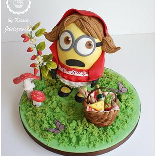 Red Riding Hood Minion - Minions 2 - The Revenge_SJ Collaboration 2019
