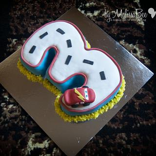 Cars 3 - Cake by Melissa Marthe