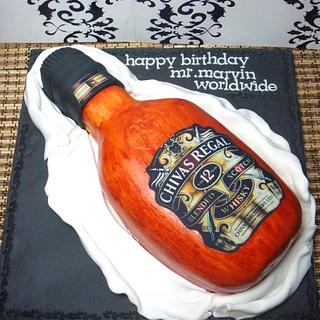 3D Cake - Chivas Regal
