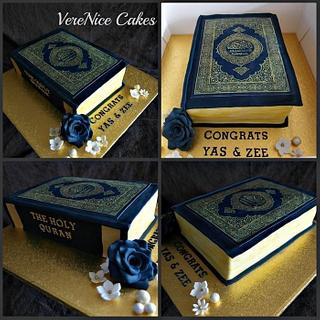 Book Cake (The Holy Quran)