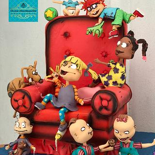 Rugrats ( aventuras en pañales)  - Cake by Dulcemantequilla