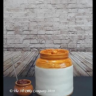 Pickle Jar cake..