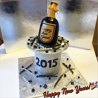 New Years cake - Cake by Latifa
