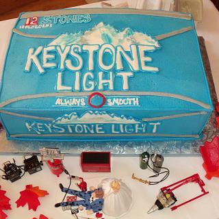 Keystone Grooms Cake