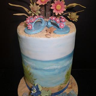 Sand Dune Cake