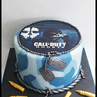 Call of duty - Cake by Time for Tiffin