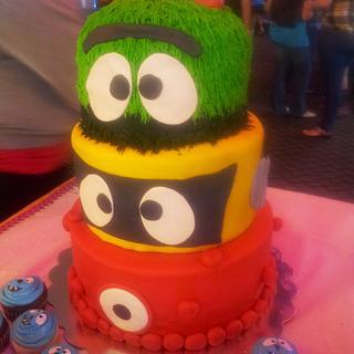 Yo gabba gabba party - Cake by Lolo