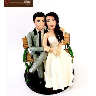 Wedding topper - Cake by  Vale Logroño