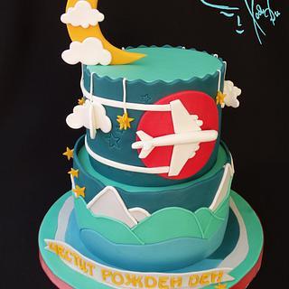 Airplane cake - Cake by Diana