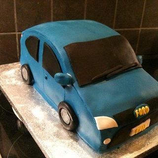 Ford Focus Car - Cake by 1897claire