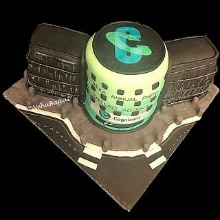 NASDAQ Building Cake