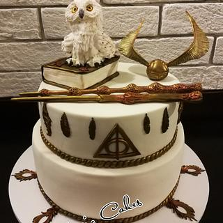 Harry Potter magic cake
