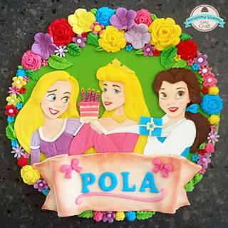 Disney princesses topper