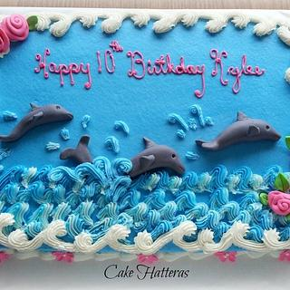 Dolphins for a 10th Birthday