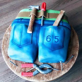 DIY cake.