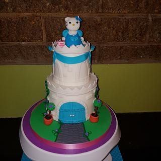 Princess Hello Kitty - Cake by Heavenlybitestt