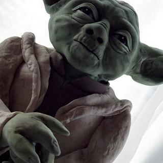 Yoda cake he is ...