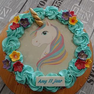 Unicorn cake - Cake by Stertaarten (Star Cakes)