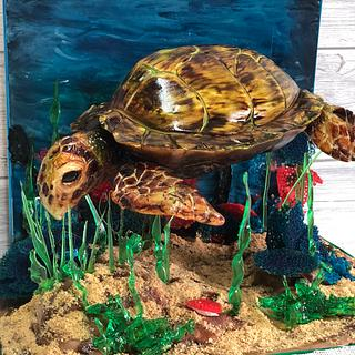 Penelope the seaturtle