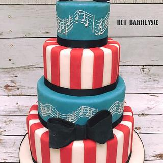 Retro cake - Cake by My Cake Day